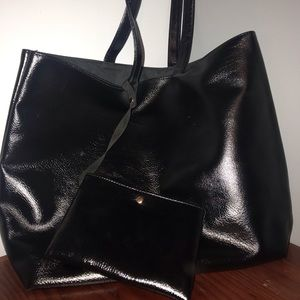 Macy's Large Black Tote
